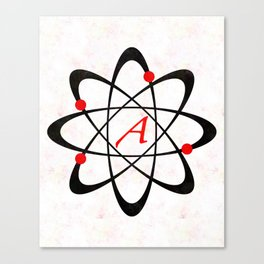 Science Scarlet A Canvas Print