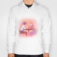 persona Hoodies featuring Take A Deep Breath | Persona 3 by spenzbow