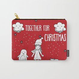 Together for Christmas Carry-All Pouch