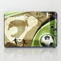 soccer iPad Cases featuring Soccer by Robin Curtiss