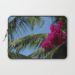 African Palm Flowers Laptop Sleeve