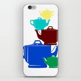 Favoriteware Stacked Pots iPhone Skin