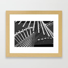 Iron Confusing Framed Art Print