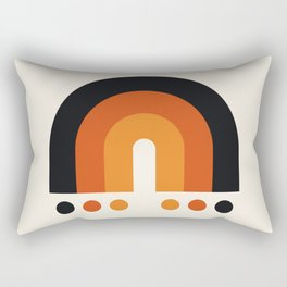 Rainbow Sunset II Rectangular Pillow