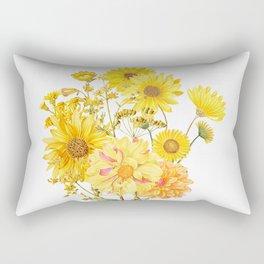Vintage & Shabby Chic - Late Summer Flowers Rectangular Pillow