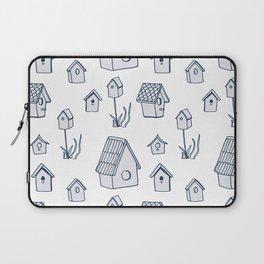 Bird House Drawings, Pattern Laptop Sleeve