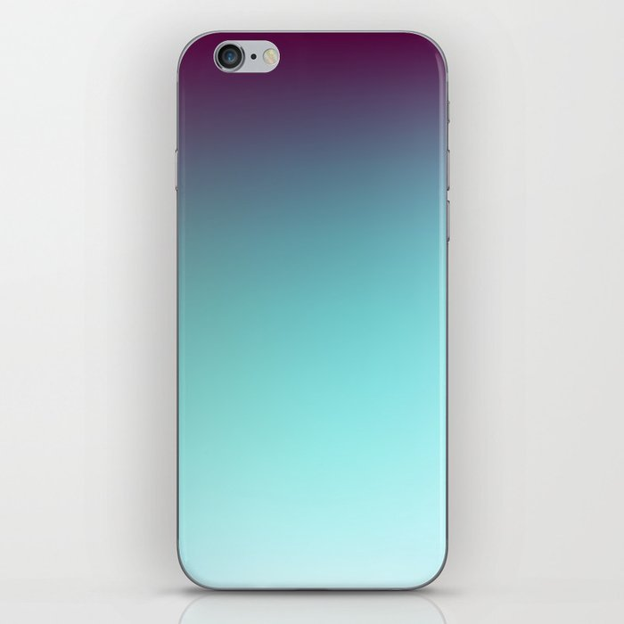 various colors fb0ee 1ad89 AQUA / Plain Soft Mood Color Blends / iPhone Case iPhone Skin by burning