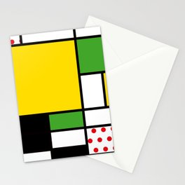 Mondrian - Bicycle Stationery Cards