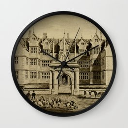 The Pytchley Hunt Wall Clock