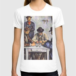 Paul Cezanne - The Card Players T-shirt