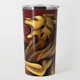 Golden Lion Travel Mug
