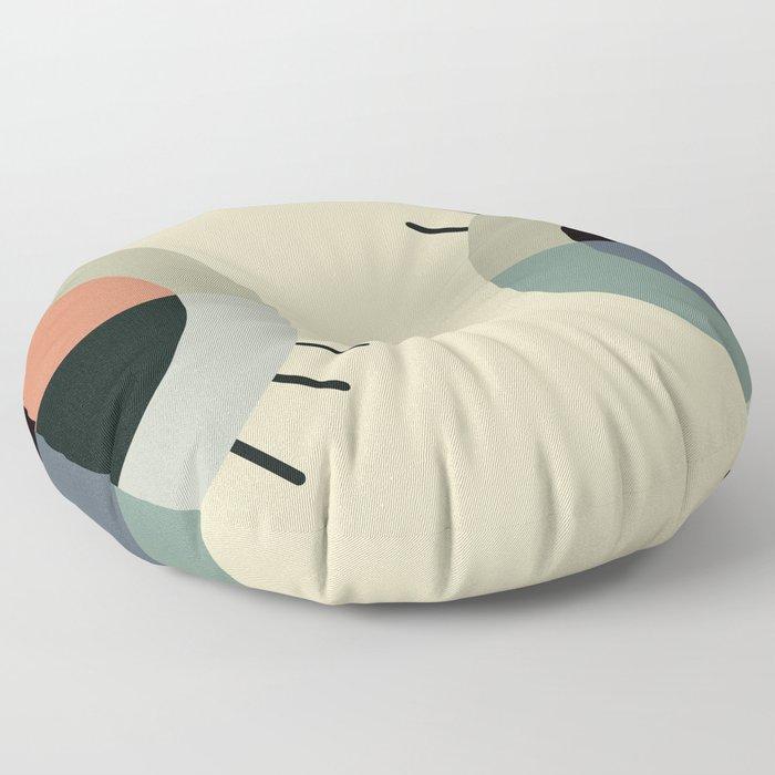 day eye night eye Floor Pillow