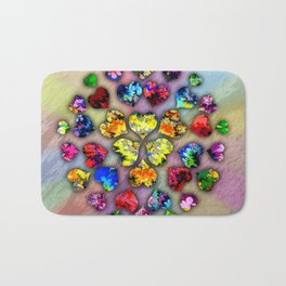 heart beat II Bath Mat