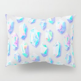 Iridescent Rainbow Crystals Pillow Sham
