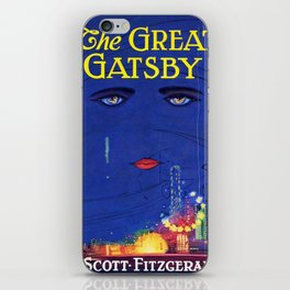 Great Gatsby - Scott F. Fitzgerald iPhone Skin