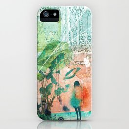 ArchiCollage - Secret Garden iPhone Case