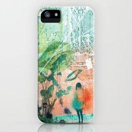 ArchiCollage - Secret Garden iPhone Case