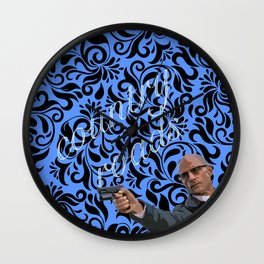 Merlin (Country Roads, Take Me Home) Wall Clock
