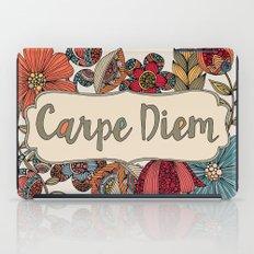 Carpe Diem iPad Case