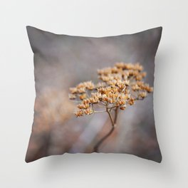 Dried Up Throw Pillow