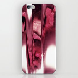 blurred blood portrait iPhone Skin