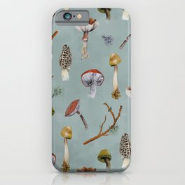 Mushroom Forest Party iPhone Case