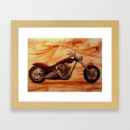 Chopper Framed Art Print