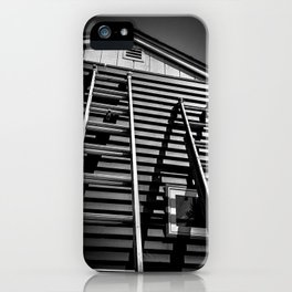 The Apprentice Climbing the Ladder iPhone Case