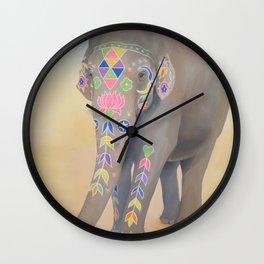 Painted Lady, Sujatha Wall Clock