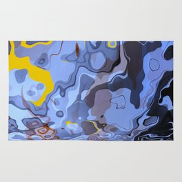 Abstract Composition 548 Rug