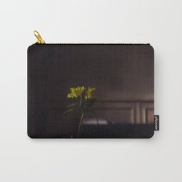 Quiet Afternoon (Yellow Flowers in a Vase) Carry-All Pouch