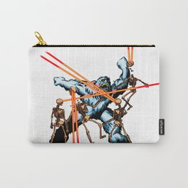 Yeti vs. Laser Skeletons Carry-All Pouch