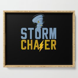 Storm Chasers Serving Tray