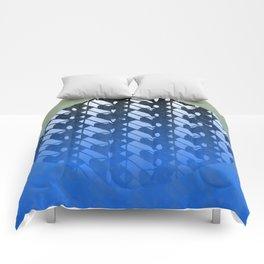 lunar zen Comforters