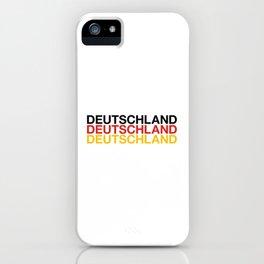 DEUTSCHLAND iPhone Case