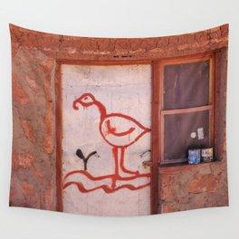 Pueblo de Machcuca Wall Tapestry