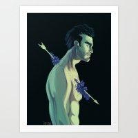 derek hale Art Prints featuring Derek Hale by Rahciach