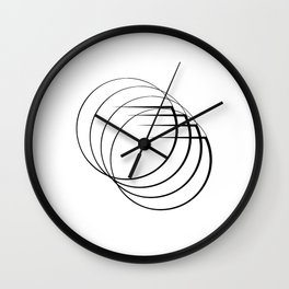""""""" Eclipse Collection"""" - Minimal Letter G Print Wall Clock"""
