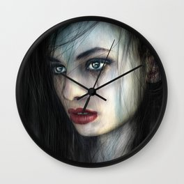 Born for Battle Wall Clock