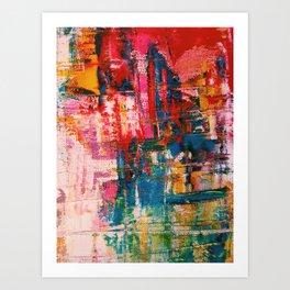 Paint Expression Art Print