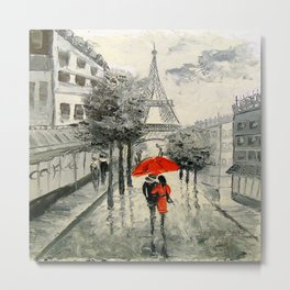 Paris Paris Metal Print