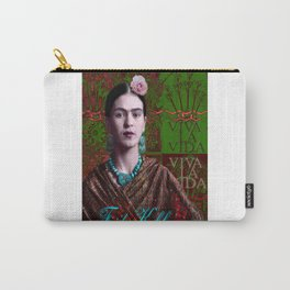 Frida Kahlo - Viva La Vida (Ver 3.2) Carry-All Pouch