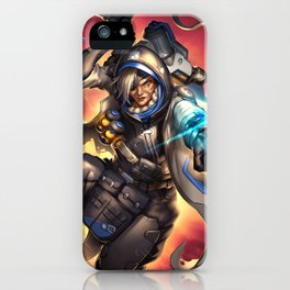 over ana watch iPhone Case