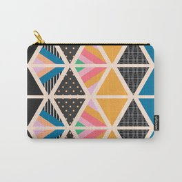 Triangle collage Carry-All Pouch