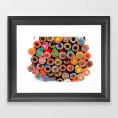 Colored Pencils Part II Framed Art Print