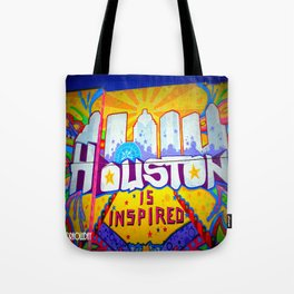 Houston is Inspired Tote Bag