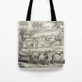 A. J. Defehrt - Chariot of Apollo (1764) Tote Bag