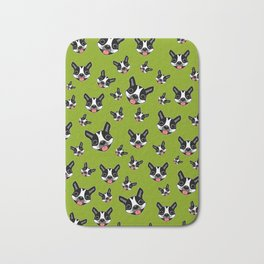 Milo The Boston Terrier #2 Bath Mat