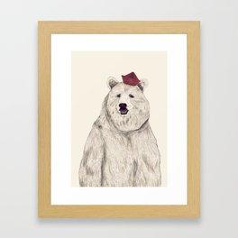 Oso Padre Framed Art Print