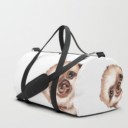 Sneaky Baby Sloth Duffle Bag